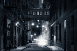 Gotham night street