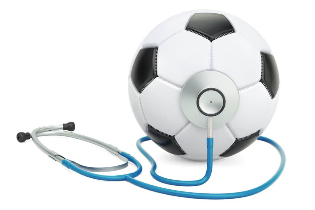 Soccer ball & stethoscope