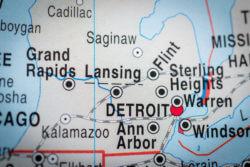 Map SE Michigan